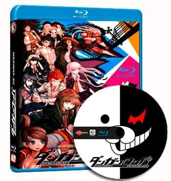 anime Danganronpa The Animation dvd cover