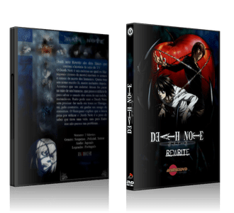 Death Note Rewrite DVD Cover