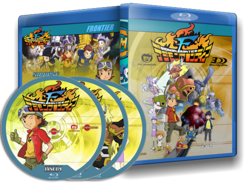 Digimon Frontier Cover Capa