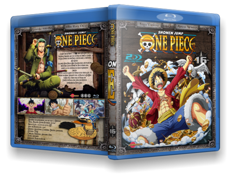 one piece blu-ray cover
