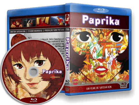 Paprika Blu-ray Cover