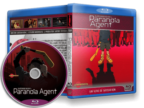 Paranoia Agent Blu-ray cover