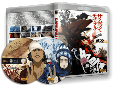 samurai Champloo Blu-ray cover