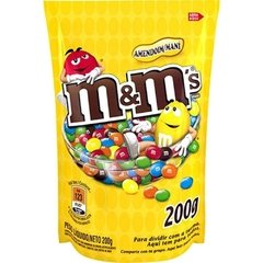 Chocolate e Amendoim M&Ms 200g