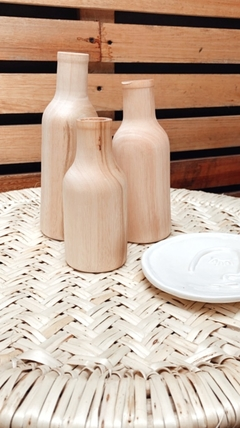 Botellas Wood - comprar online