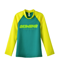 Remera UV M. largas VERDE