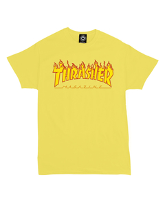 Thrasher Flame Tee (Y)
