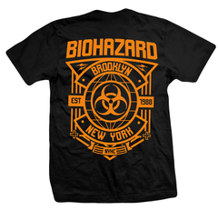 Remera Biohazard en internet