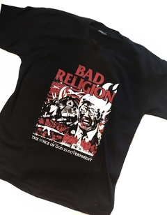 Remera Bad Religion God is Government