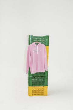 Buzo Hoodie Morty Rosa - comprar online