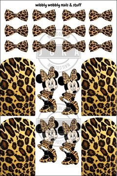 DECALT MINNIE ANIMAL PRINT