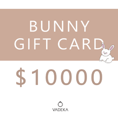 BUNNY GIFT CARD $10000