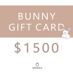BUNNY GIFT CARD $1500