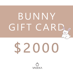 BUNNY GIFT CARD $2000
