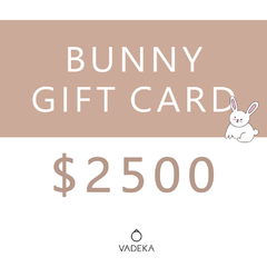 BUNNY GIFT CARD $2500
