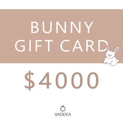 BUNNY GIFT CARD $4000