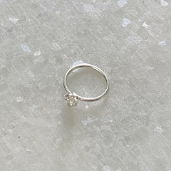 PROMISE ME THE WORLD SILVER HOOP (x1) - comprar online