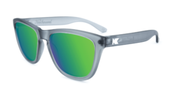 Óculos de sol Knockaround Premiums - Frosted Grey / Green Moonshine