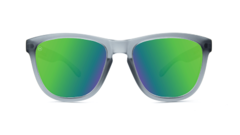 Óculos de sol Knockaround Premiums - Frosted Grey / Green Moonshine - comprar online
