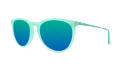 Óculos de sol Knockaround Mary Janes - Mint Jelly na internet
