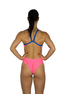 Maiô Fit - Nixie Swim Pink & Blue - TRI Designs