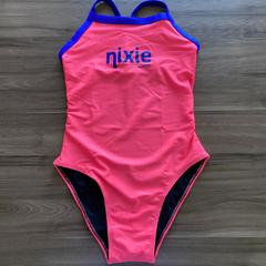 Maiô Fit - Nixie Swim Pink & Blue