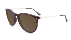 Óculos de sol Knockaround Mary Janes - Glossy Tortoise Shell / Amber