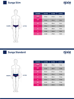 Sunga Standard - Navy Basics - TRI Designs