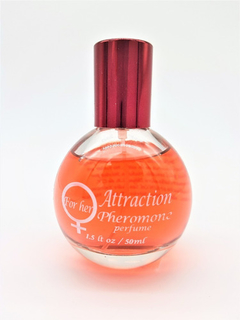 ATTRACTION PERFUME CON FEROMONA PARA MUJER 50 ML