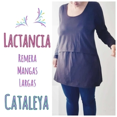 Remera mangas largas Cataleya