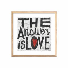 The Answer is Love - comprar online