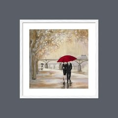 Romantic Paris III Red Umbrella - tienda online