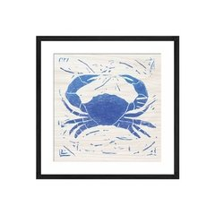 Sea Creature Crab Blue - Sur Arte Shop - Láminas y Cuadros