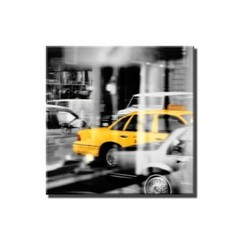 Yellow Taxi Reflection - comprar online