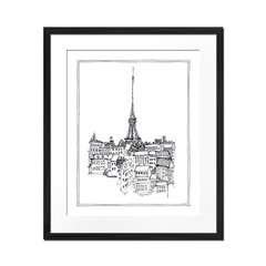 Paris Sketch - Sur Arte Shop - Láminas y Cuadros
