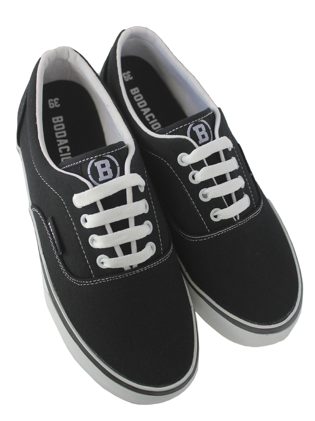 ZAPAS BROOKLYN NEGRO BLANCO