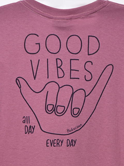 REMERA GOOD VIBES Jr - comprar online