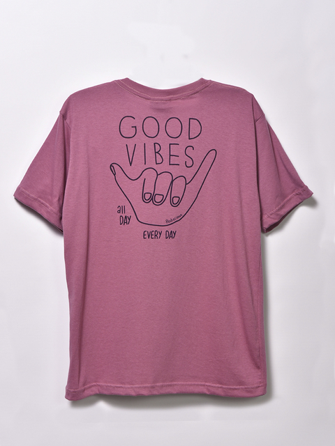 REMERA GOOD VIBES Jr