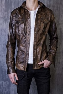 Camisa Dirty Brown - FRANCUIR