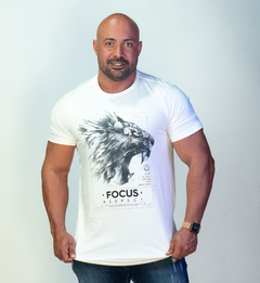 T-Shirt - Respect Lion - comprar online