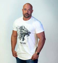 T-Shirt - Respect Lion na internet