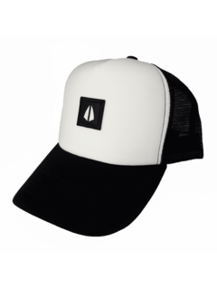 Trucker Icon Blanco / Negro