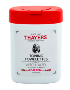 Thayers- Rose Petal Toning Towelettes