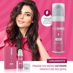 Gel Excitante Eletrizante Loveshock Extreme Beijável Chiclete fantazzia sex shop