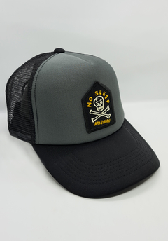 Gorra No Sleep Grey Black