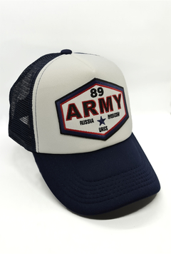 Gorra Russian Army Blue White Trk
