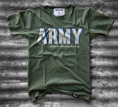 Remera Army 3D Rs Mil