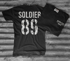Soldier 89 Back Black
