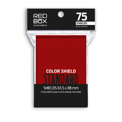 Folio Protector Color Shield Rojo (63.5 x 88)  -  75 unidades