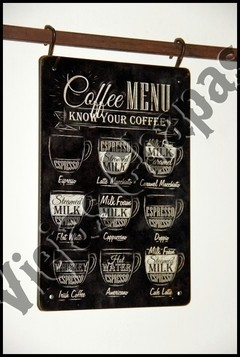ZR-038 coffee menu - comprar online